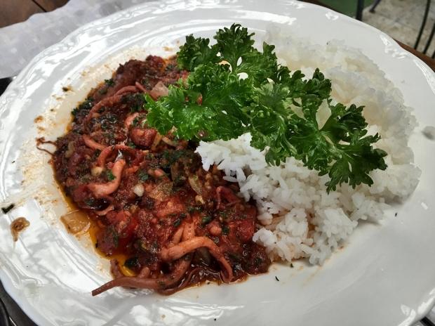 Greek Octopus Stew