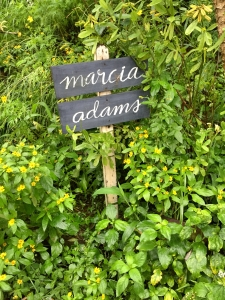 Marcia Adams Restaurant Sign