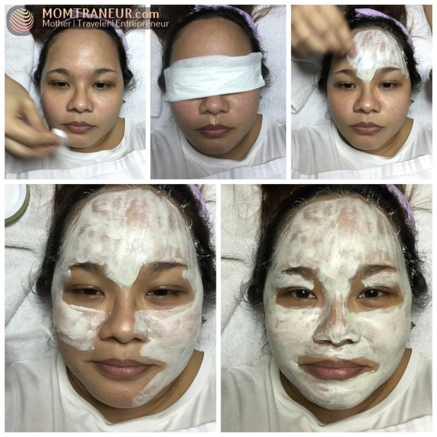 Black Pearl Facial Whitening Treatment
