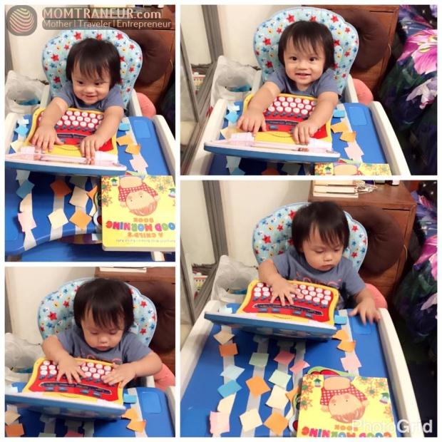 pre-toddler activity