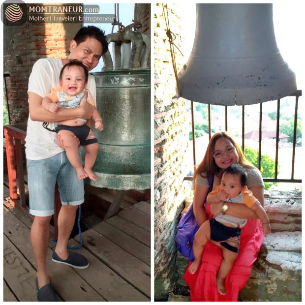 Fun at the Bantay Church Bell Tower.