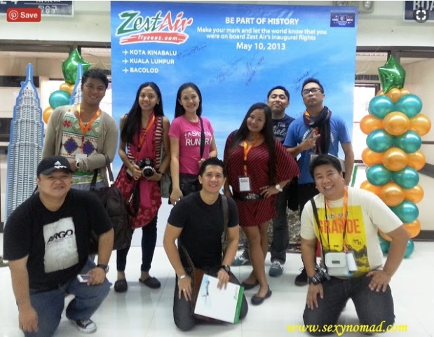 Zest Air Inaugural Flight 2013