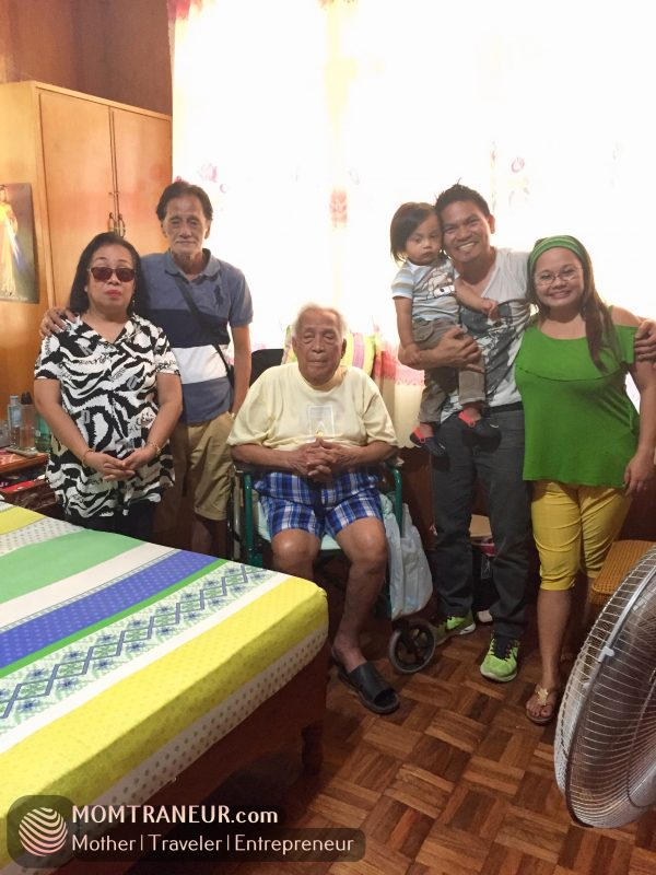 A visit to my 94 year old grandpa