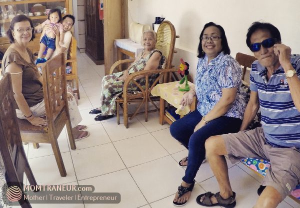 A visit to my 90-year old grandma in Surigao del Norte