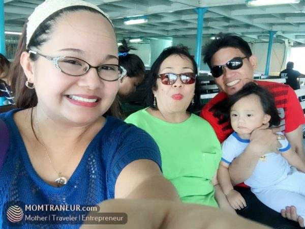 Boat from Matnog, Sorsogon to Allen, Samar