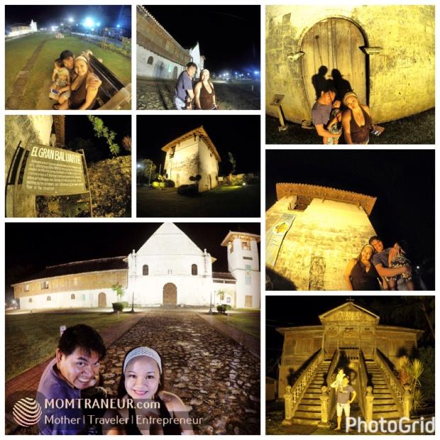 Boljoon Church at night