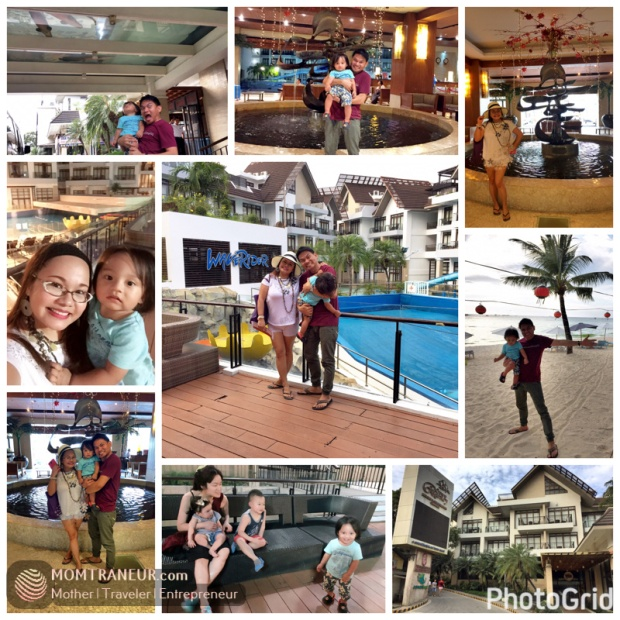 Checking out Crown Regency in Boracay