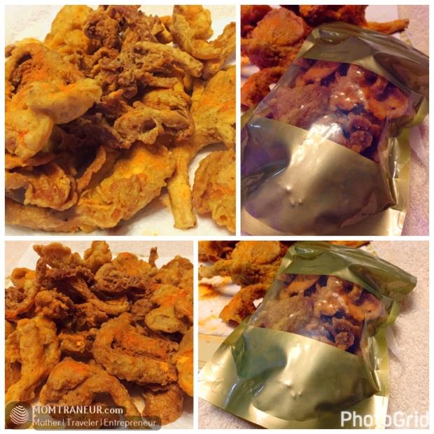 Mushroom Crispy Fries