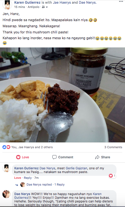 Mushroom Chili Paste Review
