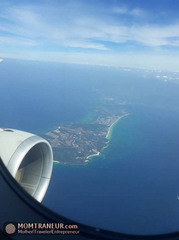 Boracay View from a plane