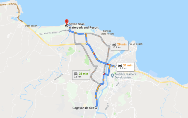 Seven Seas Map