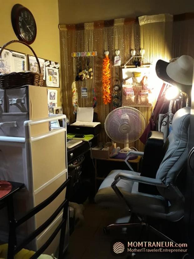 tiny pad home office