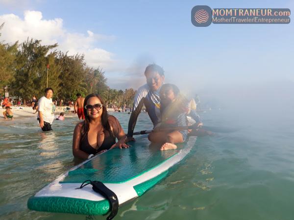 Paddle Boarding Boracay