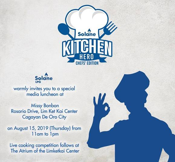 Solane Kitchen Hero event invite