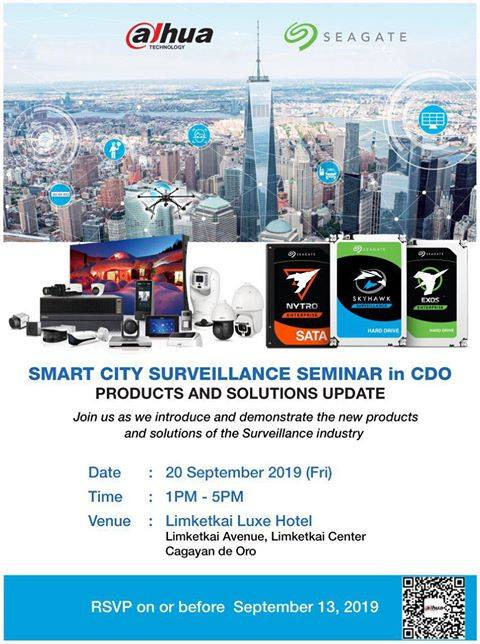 Seagate and Dahua Smart City Surveillance Seminar