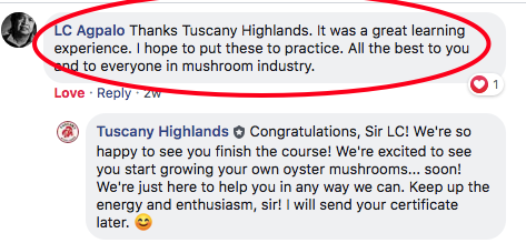 Tuscany Highlands Training Review