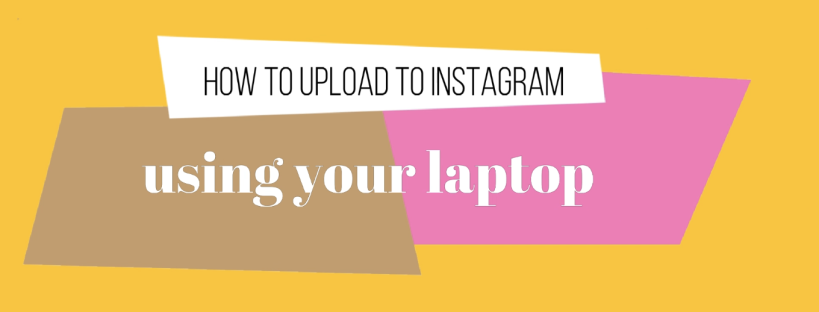 0:00 / 3:33 How to Upload to Instagram Using Your Laptop